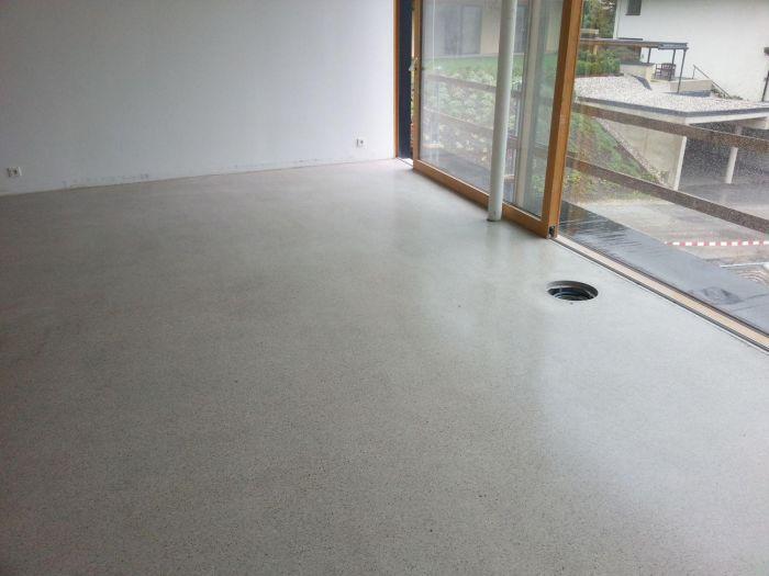 Fußboden Beton Estrich ~ Geschliffene estriche oder beton ist ein moderner und zeitloser
